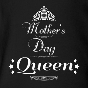 Mother's Day Queen Graphic - Short Sleeve Baby Bodysuit