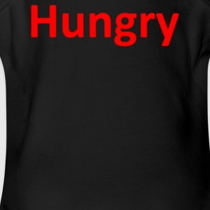 Hungry - Short Sleeve Baby Bodysuit