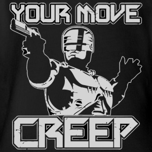 Your Move Creep vectorized - Short Sleeve Baby Bodysuit