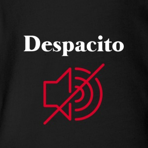 MUTE Despacito - Short Sleeve Baby Bodysuit