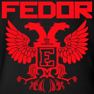 Fedor Emelianenko Russian Eagle - Short Sleeve Baby Bodysuit