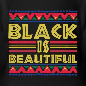 Black is Beautiful: African American T-Shirt - Short Sleeve Baby Bodysuit