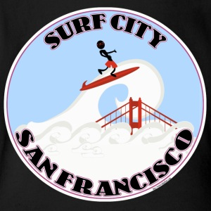 Surf City San Francisco - Short Sleeve Baby Bodysuit