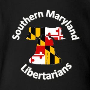 Southern Maryland Libertarians Swag - Short Sleeve Baby Bodysuit