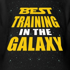 Best Training In The Galaxy - Short Sleeve Baby Bodysuit