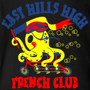 East Hills High French Club - Short Sleeve Baby Bodysuit