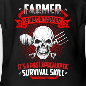 Farmer is not a career T Shirts - Short Sleeve Baby Bodysuit