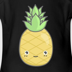 Pineapple Squad - Male - Short Sleeve Baby Bodysuit
