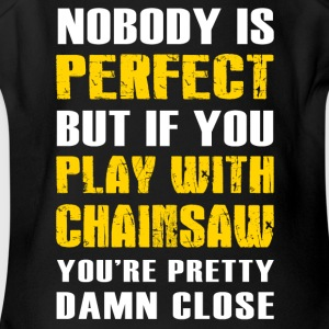 Play with Chainsaw T-Shirt - Short Sleeve Baby Bodysuit