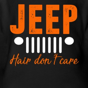 Jeep Hair Don't Care T-shirt - Short Sleeve Baby Bodysuit