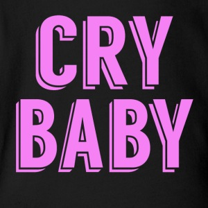 Cry Baby - Short Sleeve Baby Bodysuit