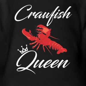 Crawfish Queen T-Shirt - Short Sleeve Baby Bodysuit