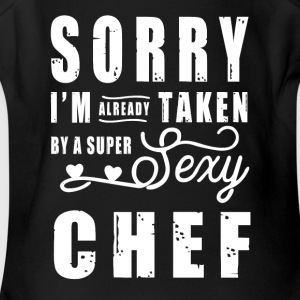 By a super sexy Chef T-Shirts - Short Sleeve Baby Bodysuit