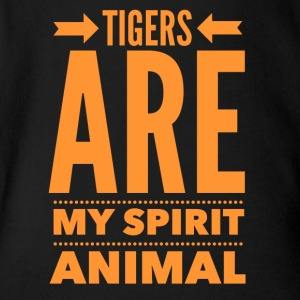 Tiger Spirit - Short Sleeve Baby Bodysuit
