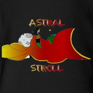 ASTRAL STROLL - Short Sleeve Baby Bodysuit