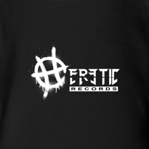 HERETIC RECORDS - Short Sleeve Baby Bodysuit