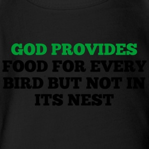 God Provides - Short Sleeve Baby Bodysuit