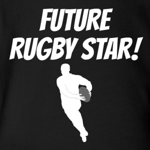 Future Rugby Star - Short Sleeve Baby Bodysuit