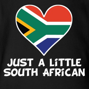 Just A Little South African - Short Sleeve Baby Bodysuit