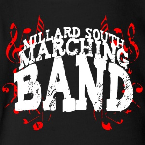 Millard South marching band - Short Sleeve Baby Bodysuit