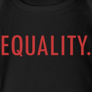 EQUALITY - Short Sleeve Baby Bodysuit