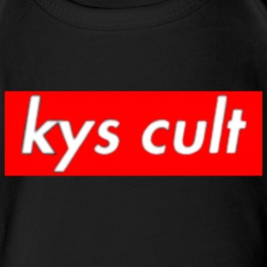kys cult red - Short Sleeve Baby Bodysuit