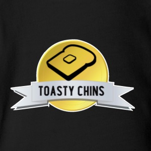The Toasty Chins - Short Sleeve Baby Bodysuit