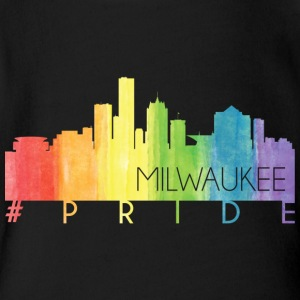 Milwaukee Pride - Short Sleeve Baby Bodysuit