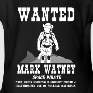 Space Pirate - The Martian - Short Sleeve Baby Bodysuit