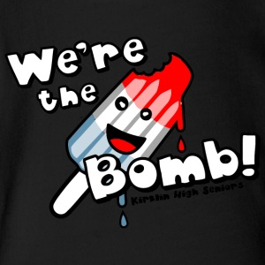 We re the Bomb Kirklin High Seniors - Short Sleeve Baby Bodysuit