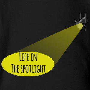 Life In The Spotlight - Short Sleeve Baby Bodysuit