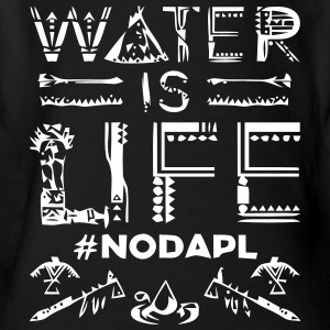 Water is Life #NoDAPL - Short Sleeve Baby Bodysuit