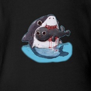 Sharksin - Short Sleeve Baby Bodysuit