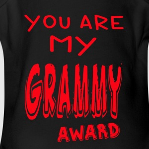 YOU ARE MY GRAMMY AWARD - Short Sleeve Baby Bodysuit