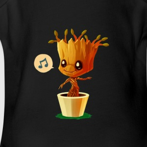 IM GROOT - Short Sleeve Baby Bodysuit