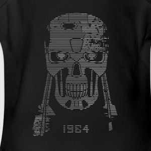 Terminator Head - Short Sleeve Baby Bodysuit