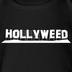 Hollyweed - Short Sleeve Baby Bodysuit