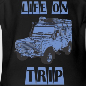 LIFE ON TRIP - Short Sleeve Baby Bodysuit