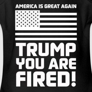 Trump you are fired! - Short Sleeve Baby Bodysuit
