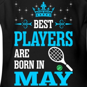 Best Players Are Born In May - Short Sleeve Baby Bodysuit