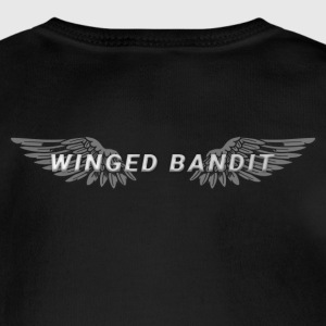Winged Bandit Wings - Short Sleeve Baby Bodysuit