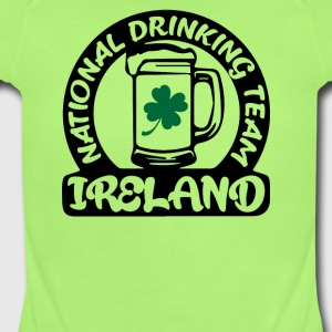 Ireland National Drinking Team - Short Sleeve Baby Bodysuit