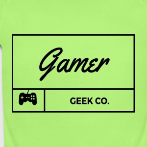 Gamer - Short Sleeve Baby Bodysuit