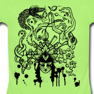 Delirious Dreams - Fungi Faction - Short Sleeve Baby Bodysuit