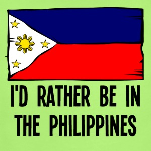 I'd Rather Be In the Philippines - Short Sleeve Baby Bodysuit