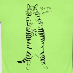 Pet me Human - Short Sleeve Baby Bodysuit