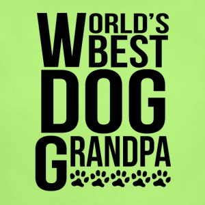World's Best Dog Grandpa - Short Sleeve Baby Bodysuit