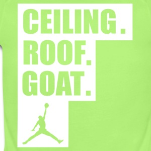 ceiling roof goat shirt - Short Sleeve Baby Bodysuit