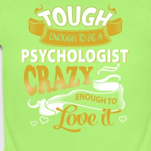 Touch enough to be a Psychologist - Short Sleeve Baby Bodysuit