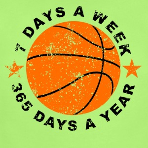 7 Days A Week Basketball - Short Sleeve Baby Bodysuit